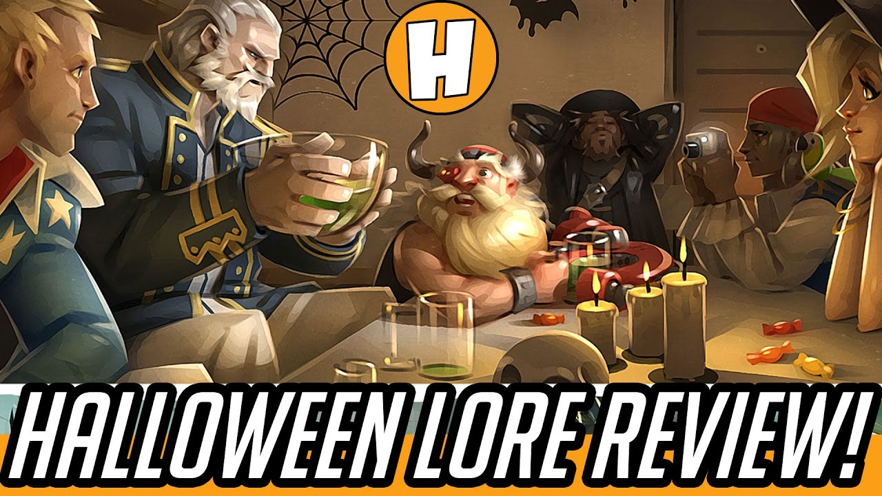 Overwatch Lore - Junkenstein Halloween Comic/Brawl Review + ...