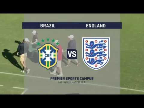 2017 U-17 Men's Nike International Friendlies: England vs. Brazil