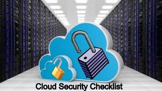 Cloud Computing   Cloud Security   Cloud Computing Audit Checklist   499 Checklist Questions