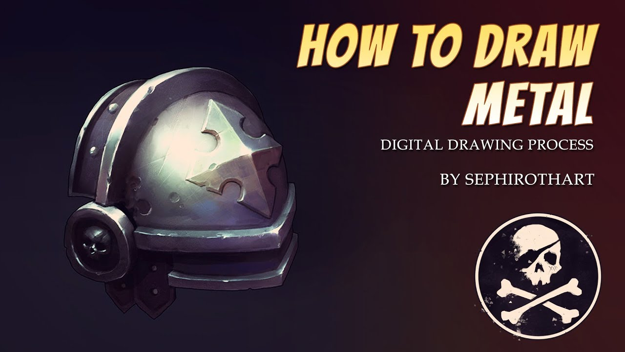 HOW TO DRAW METAL ● TUTORIAL [ SephirothArt ]