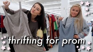 THRIFT SHOPPING FOR PROM DRESSES 2019!