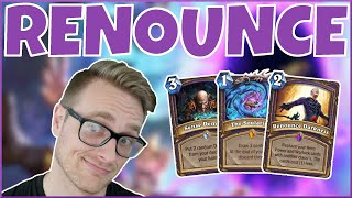 Hearthstone | Goodbye Darkness, My Old Friend | Wild Renounce Warlock | Rise of Shadows