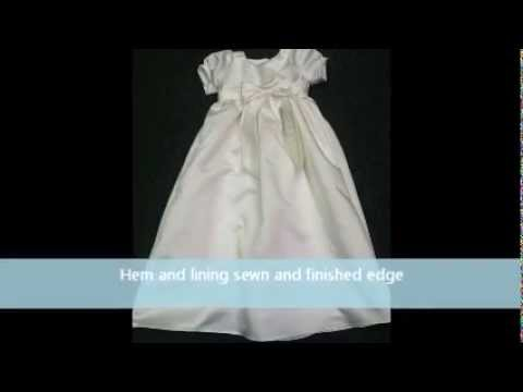 Project Wedding Gown To Christening Gown Youtube