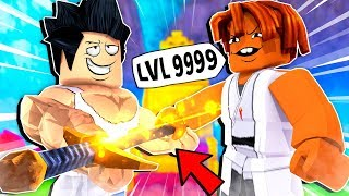 PRO gave his Most POWERFUL Weapon!! (Roblox Dungeon Quest)