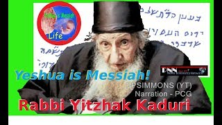 "Orthodox Rabbi Reveals Name of Messiah is ""JESUS""(Yehoshua or Yeshua)!"