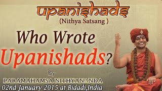 Who Wrote Upanishads?
