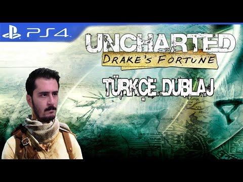 Uncharted Drake's Fortune PS4 Türkçe Dublaj Bölüm 1