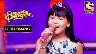 "Urgen Steals The Limelight With Her Version Of ""Navrai Majhi"" | Superstar Singer"