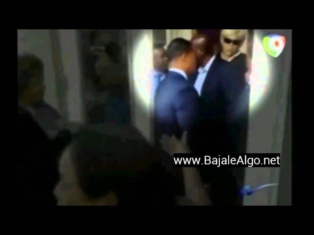 Felix Bautista escondido cuando le gritaban ladrón a Leonel