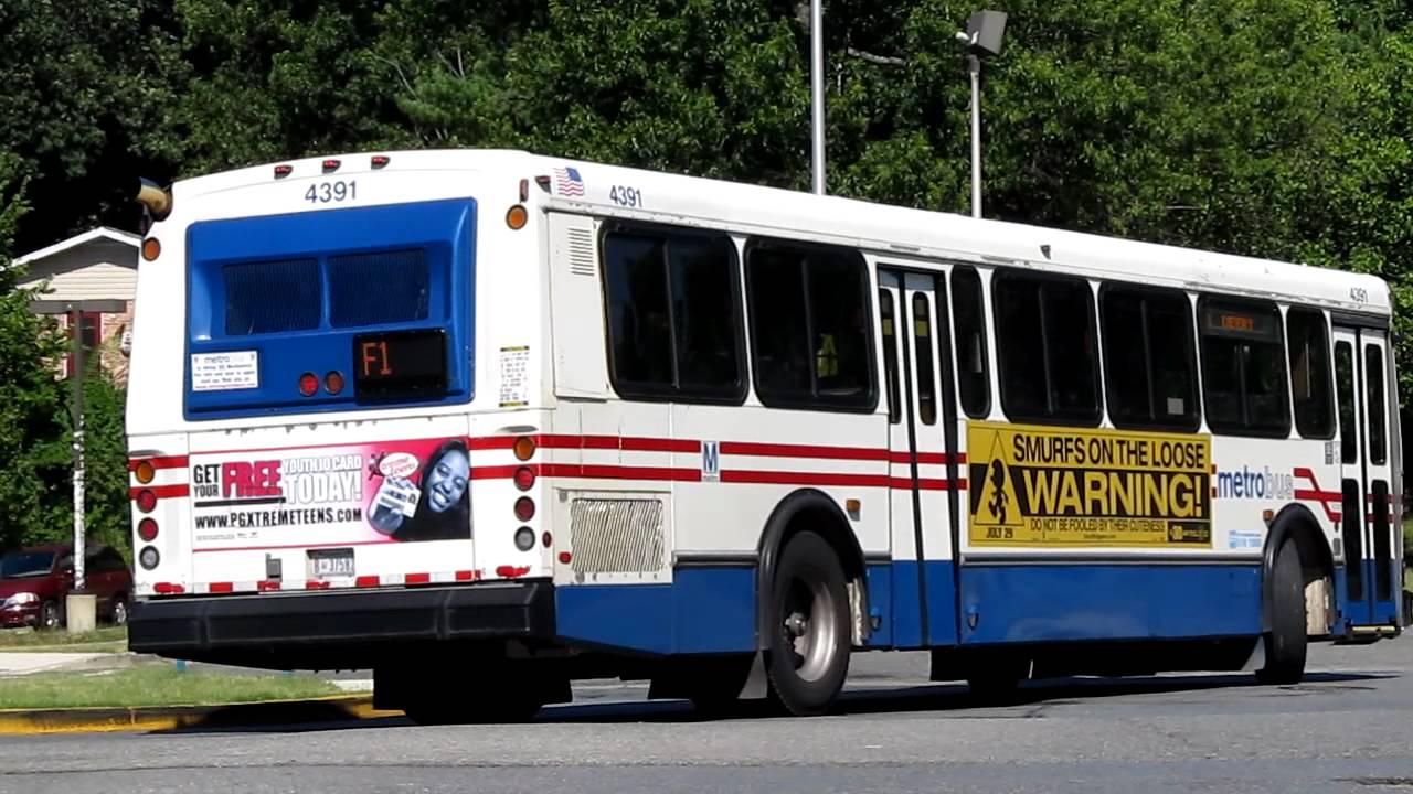 Metro Bus Cleaners Dc : Wmata metrobus orion v route f takoma