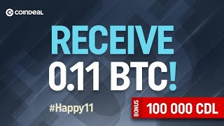 0.11 100 CLD BTC Big Coindeal Exchange Join Fast