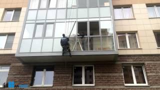 СПБ. ЗВОНИТЕ 670-07-67.АЛ-ПЛЮС. Замена холодного остекления на теплое без изменения фасада.(http://al-plus.ru ООО