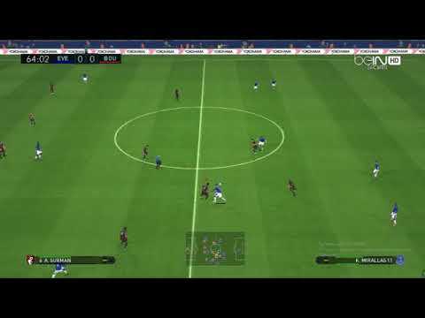 Download Pes 2017|Everton vs Bournemouth All Goals & Highlights