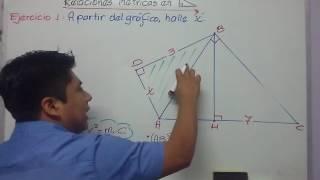 Relaciones métricas en triángulo rectángulo 1