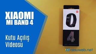 XIAOMI MI BAND 4 Kutu Açılış Videosu