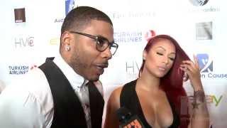 Shantel Jackson & Nelly Talk Domestic Violence at Face Forward Gala