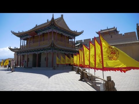Exploring Jiayuguan's Great Wall Fort - Trying New Food in China - 24th Brithday