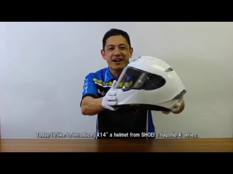SHOEI X-14 Full Face Helmet Overview