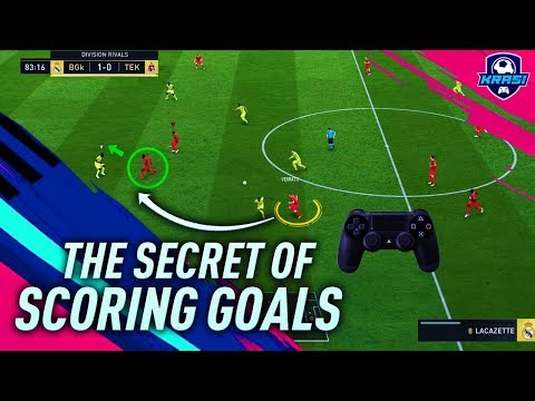 FIFA 19 THE SECRET OF SCORING GOALS in DIVISION RIVALS! HOW TO ATTACK & CREATE SCORING CHANCES!