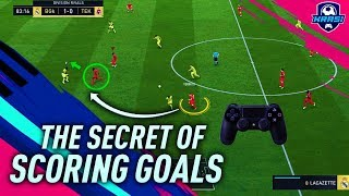 FIFA 19 THE SECRET OF SCORING GOALS in DIVISION RIVALS HOW TO ATTACK amp; CREATE SCORING CHANCES