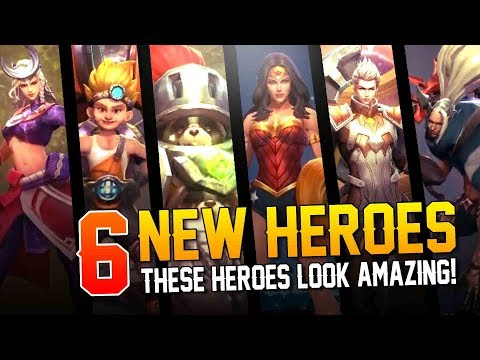 Arena of Valor News: 6 NEW HEROES!! Too much awesome!