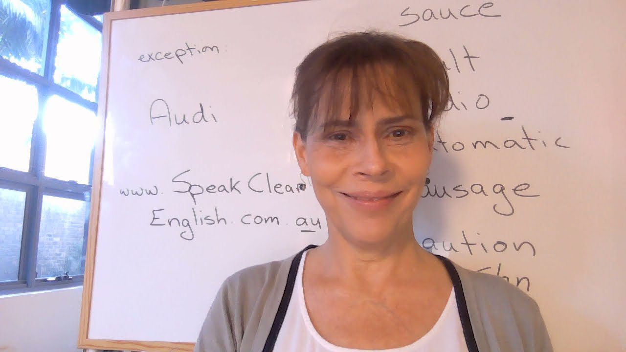 """Pronunciation tips for Spanish and Portuguese speakers: words with """"au"""""""
