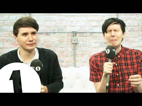 Elvis' Face Appears In Fire! Dan & Phil's Internet News