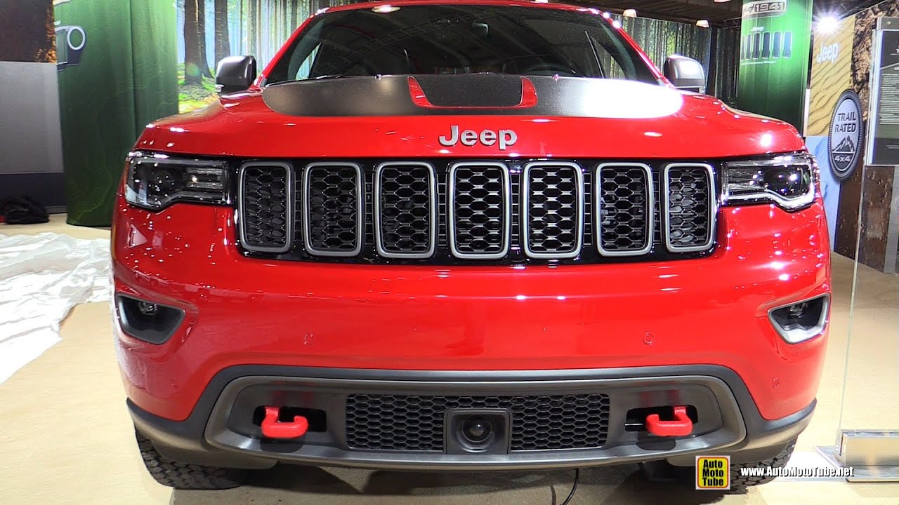 2017 Jeep Grand Cherokee Interior Lights