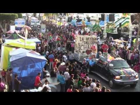 CARNAVAL LAPAZ 2012 Desfile de Martes de Carnaval / La Paz Mexico Carnaval Parade