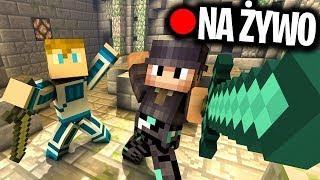 Minecraft Ferajna 4 NA ŻYWO: PRZYGOTOWANIA DO WOJNY NA FERAJNIE... - Na żywo