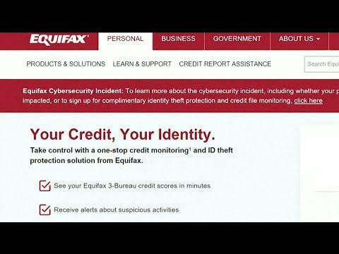 Equifax Credit Report >> Massive Equifax Credit Report Hack Hits 143 Million People Youtube