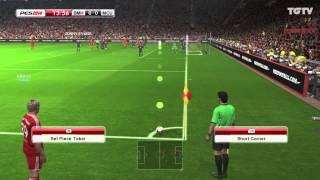 فيديو تجربة PES 2014 بايرن ميونخ ضد مانشستر يونايتد مع Adam Bhatti