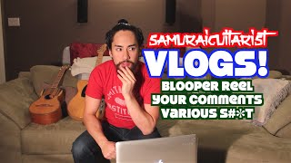 Vlog Blooper Reel Your Comments Various S T