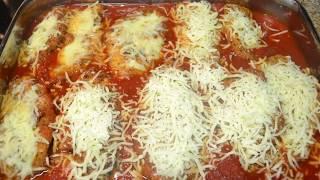 Chicken Parm Low Carb Keto (Ketogenic) Recipe