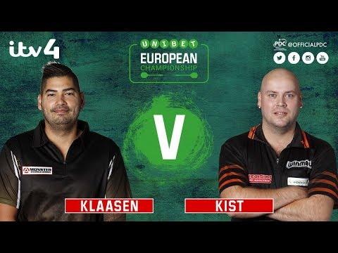 2017 European  Darts Championship Round 1 Klaasen vs Kist