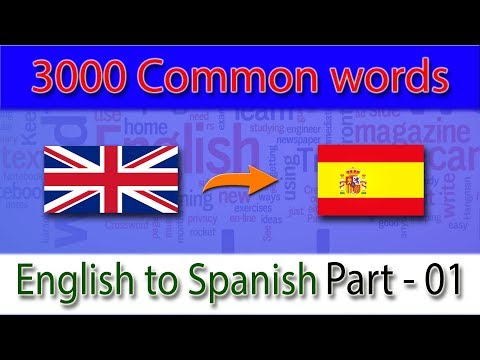 lista-de-vocabulario-en-ingles-|-english-to-spanish-vocabulary-|-part---01