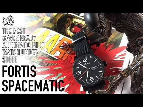 The Gemini Astronauts' Choice & Most Underrated Under $1000 Pilot Watch - Fortis Spacematic Review