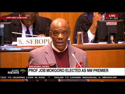 Prof. Job Mokgoro address after being sworn in as NW Premier