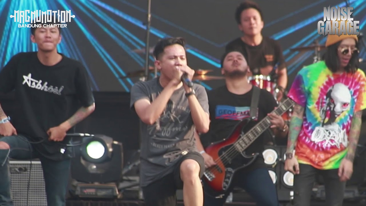 Byebye Bunny - Maya (feat Anggi RTF and Dixie DWF) live at Magnumotion Bandung Chapter 2018