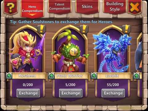New Hero Plant Warrior | The Heroes | Castle Clash