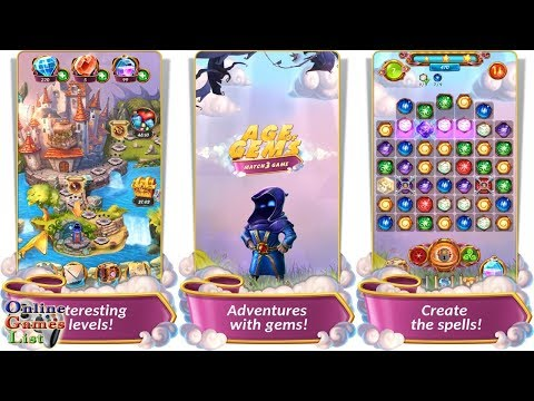 Age Of Gems: Match 3 Game Android Gameplay