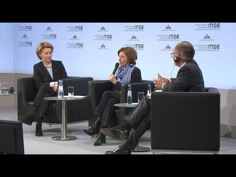 MSC-2018. Opening Statements by Ursula von der Leyen and Florence Parly followed by Q&A [16.02.2018]