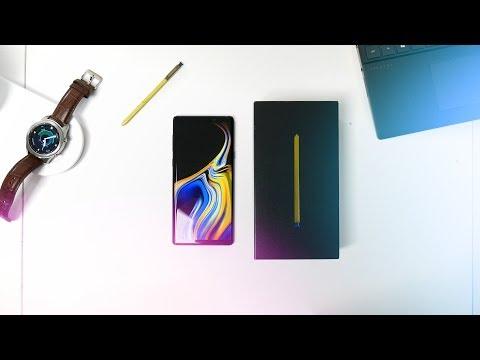 Samsung Galaxy Note 9 : Unboxing et premières impressions ! (en Français)