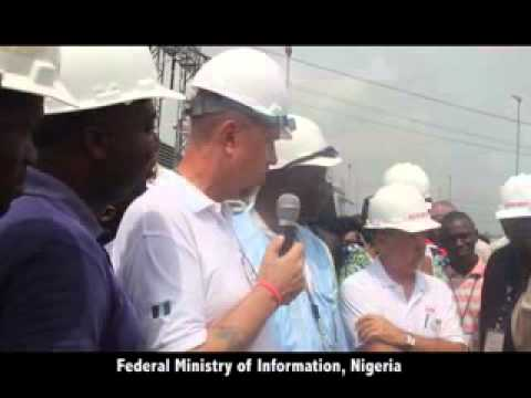 #NGGTour team inspects Lot 1 Power Plant Ikot Nyong, Odukpani