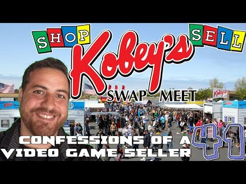 VIDEO GAMES At Local FLEA MARKETS!! | Confessions Of A Video Game Seller (EP. 41)