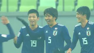 (U-23) Japan 3 North Korea 1 Asian Championship 2018 日本対北朝鮮