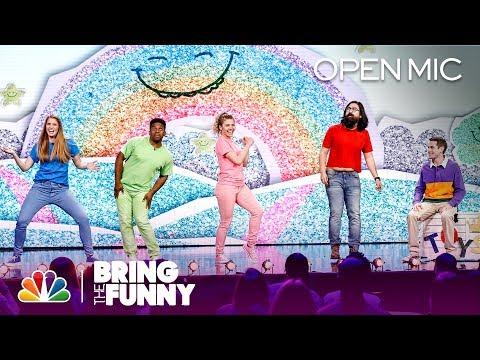 JK! Studios' Happy Fun Friends Sketch - Bring The Funny (Open Mic)