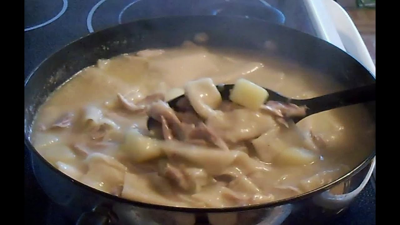 Old fashioned homemade chicken and dumplings e61 youtube forumfinder