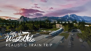 Cities Skylines: Realistic Train Trip [Railway Mod & Haven Cubemap]