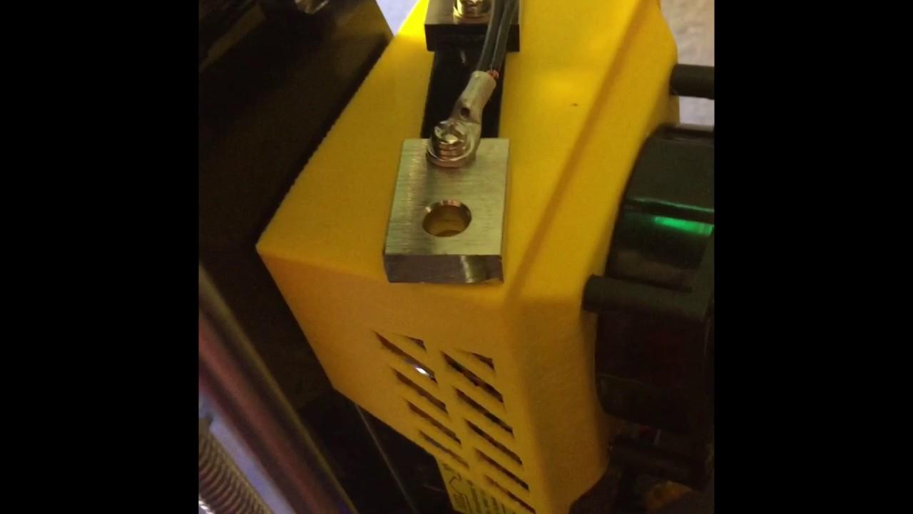3d Printer Voltage Amp Meter Install
